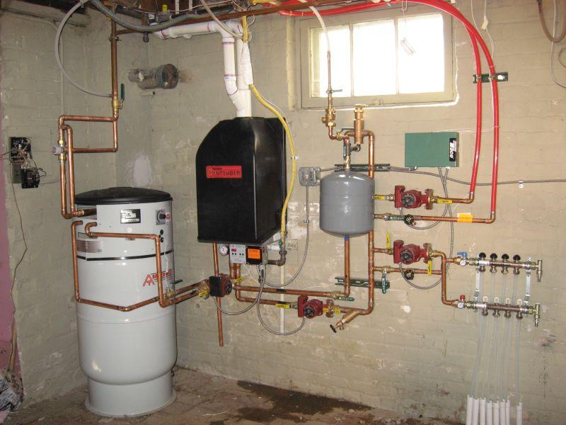 Boiler System Installation - Sinton Air