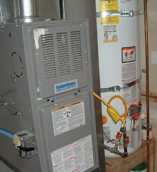 1 Gas furnace service, Sinton Air conditioning and Heating Inc